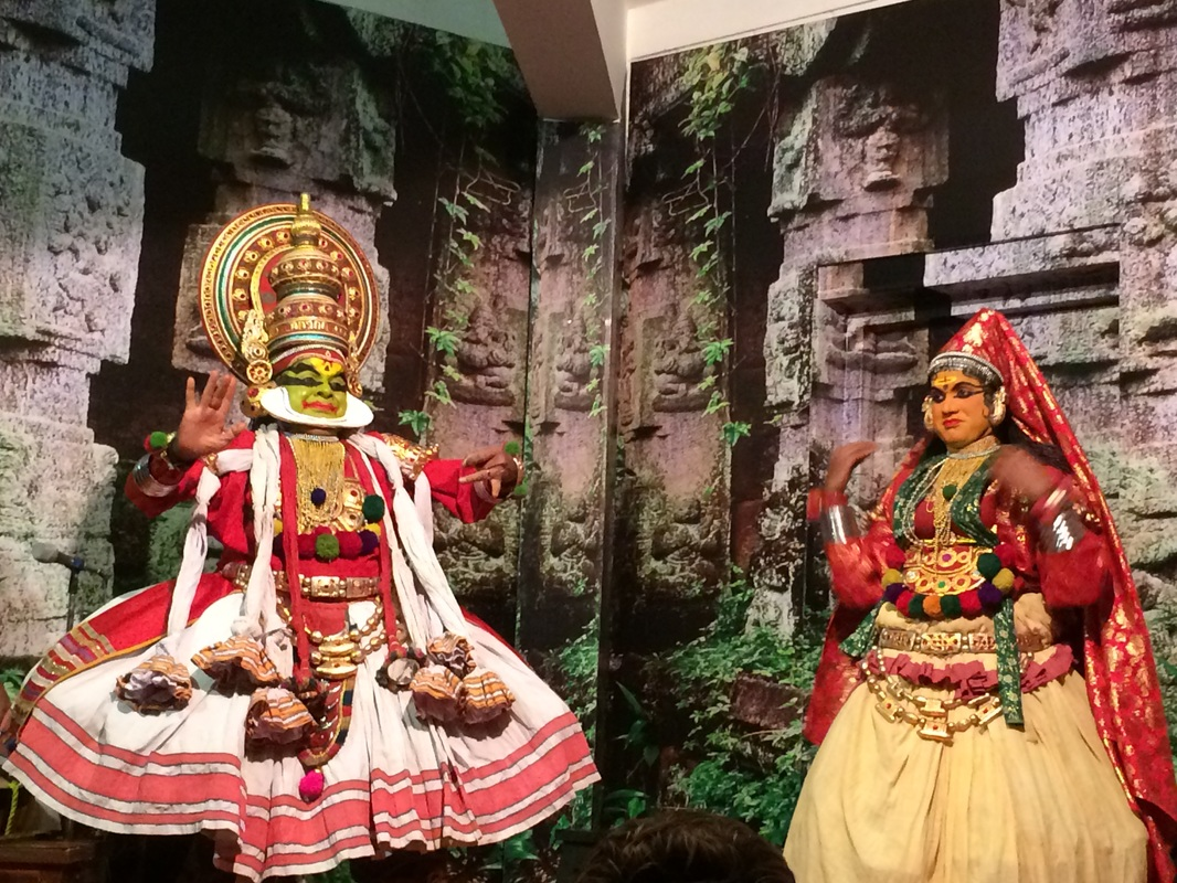 indian dance, kathakali, noor