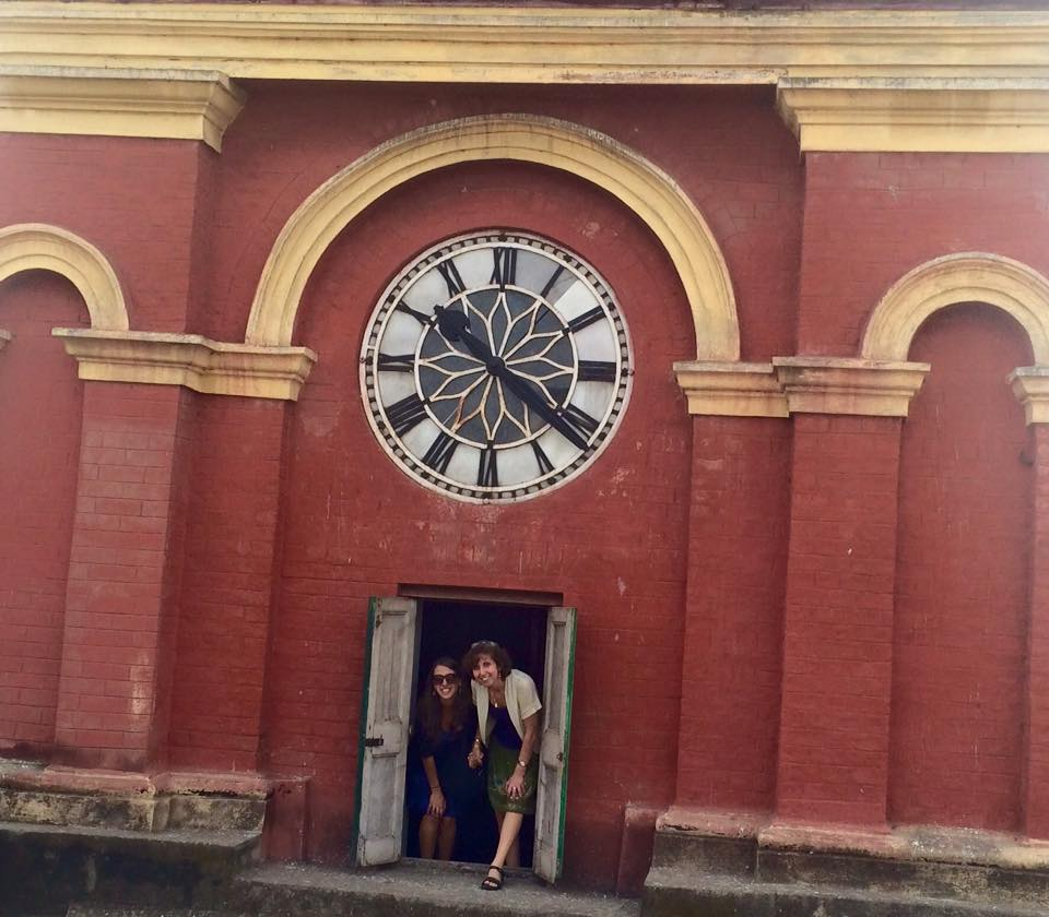 India, Jewish India, Clock, Maghen David Synagogue, Calcuttaicture